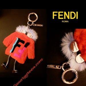 New!🤯Fendi Fur Keychain!🤯